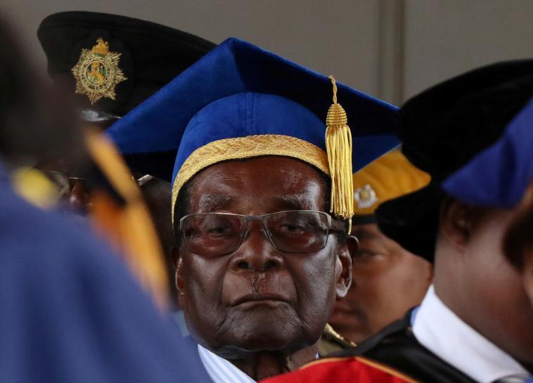 Zimbabwe's ruling party to hold rally as anti-Mugabe tide rises