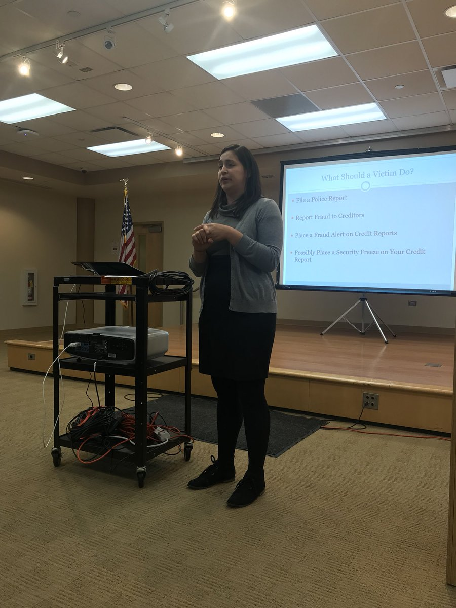 test Twitter Media - Special thanks to Berenice Martinez from the Illinois Attorney General's Office for conducting an amazing and informative Cyber Security and Consumer Protection Seminar! https://t.co/sMcAsNnoZe