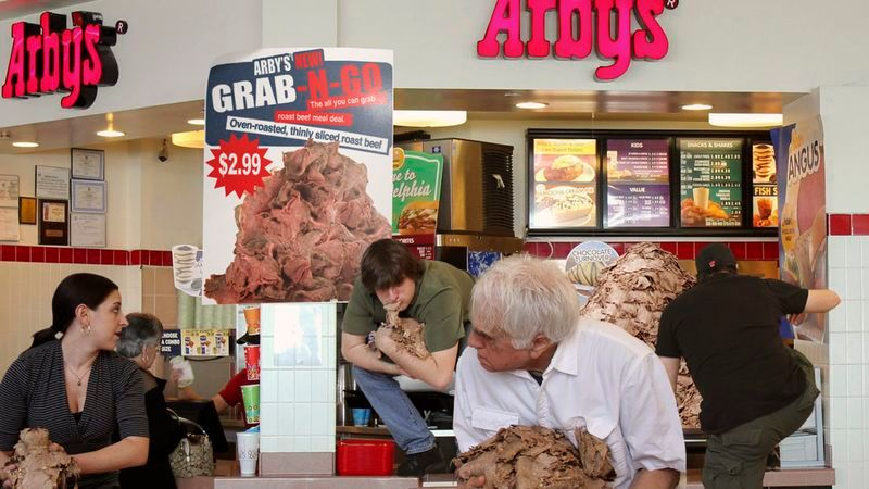Arby's Now Charging $2.99 To Let Customers Go Behind Counter, Grab Handfuls Of Roast Beef https://t.co/d2jwvSD4Gi https://t.co/BEwhHz8M7b