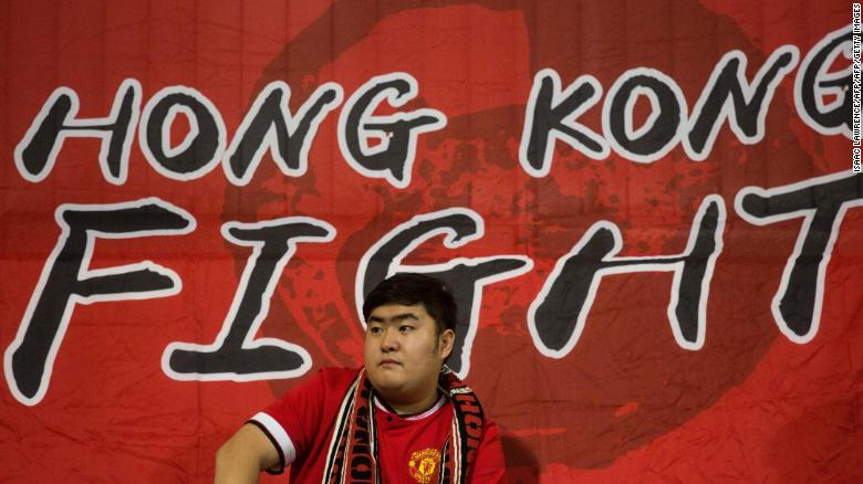 Hong Kong football fans take a stand as Chinese anthem law looms