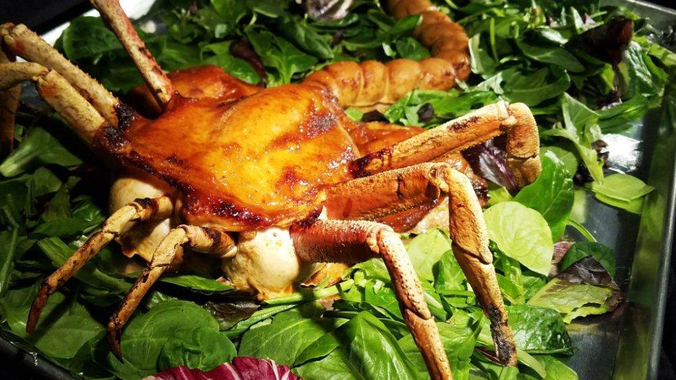 This #Alien facehugger feast chicken makes for a horrifying #Thanksgiving meal: https://t.co/uJK4AkoVoY https://t.co/nzENLyD1pn