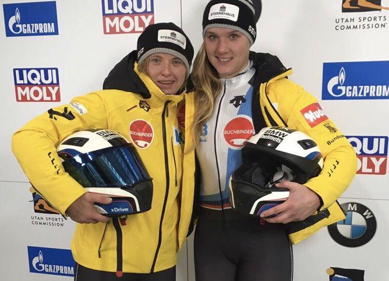 Steffi Schneider und Lisa Buckwitz Vierte beim 2. BMW IBSF Worldcup in Park City 🇺🇸 #Bobsleigh #BSDsports #BSDteam https://t.co/xqJLEKkPGJ