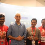 Vitaly Friedman, co-founder of @smashingmag visited our booth at Joomla World Conference 2017. #jwc #jwc17 #joomla https://t.co/wf5wsOUGjz