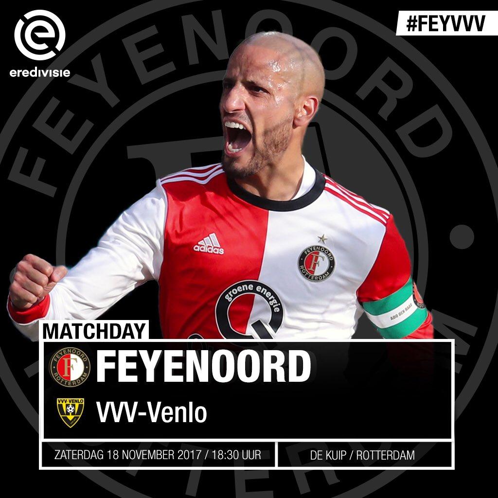 test Twitter Media - M A T C H D A Y  ⚽️ Feyenoord - VVV-Venlo 🇳🇱 Speelronde 12, @eredivisie 🕢 18:30 uur 🏟 De Kuip, Rotterdam 📱 #feyvvv https://t.co/Y9Rowhvx9s