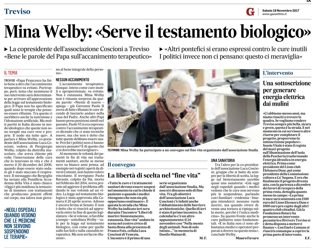 #BioTestamento