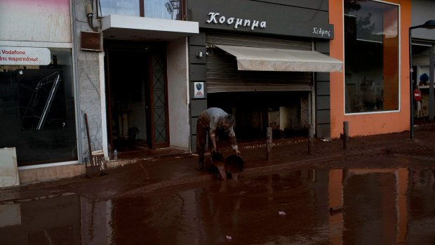 Death toll from Greek flooding now stands at 19