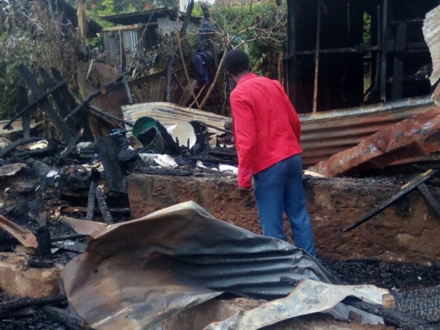 Property of unknown value gutted in Meru town fire