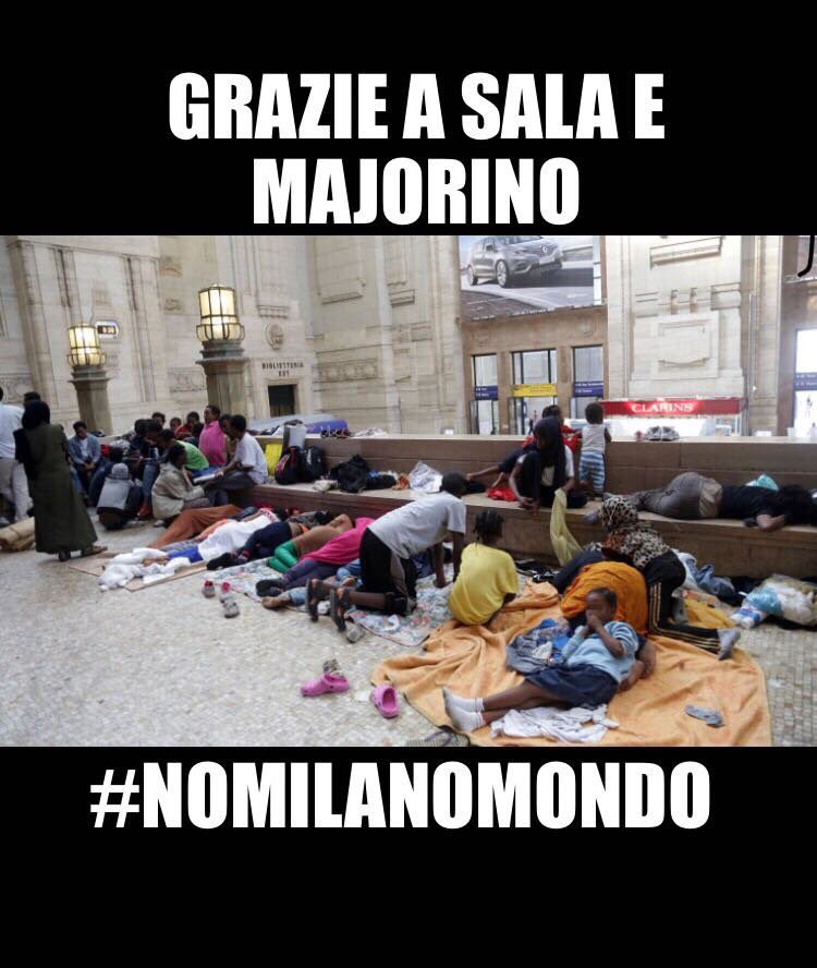 #NOMILANOMONDO