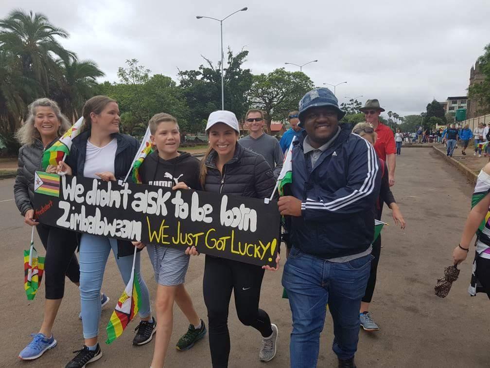 #Zimbabwe Beautiful message - Picture of the day. #Freshstart #ResetZW https://t.co/40XT2v3JVp