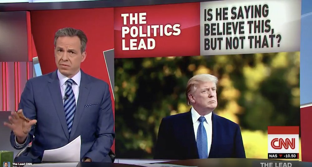 WATCH: Tapper goes through every sexual misconduct allegation against Trump one by one https://t.co/mZcNfP6Aaf https://t.co/Uj78CyYnKt