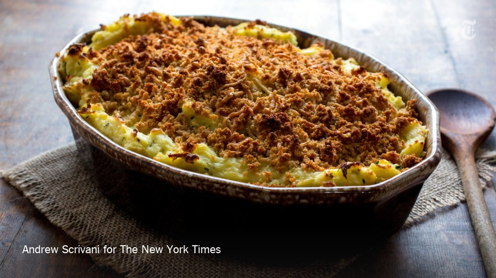 Cheesy mashed potato casserole could upstage every other dish at your Thanksgiving feast https://t.co/cV7CyqhupZ https://t.co/0VY6CmpzPY