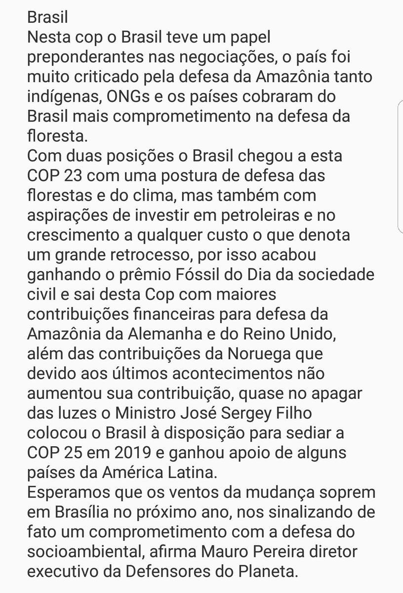 #COP23