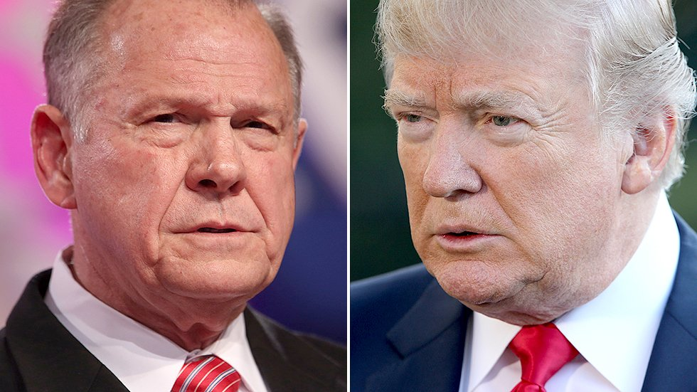 Roy Moore's wife: Trump should thank us for taking the focus off of Russia https://t.co/jXwIKGCwVN https://t.co/1G7ySjvcXl