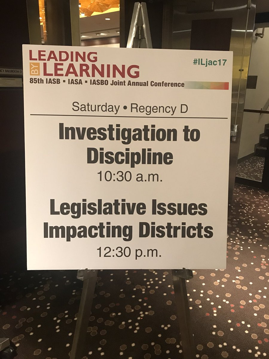test Twitter Media - Ready for our Session discussing Legislative Issues Impacting Districts at the Annual School Board Conference.  #LeadingByLearning #ILJac17 https://t.co/vWyGL2Veuk