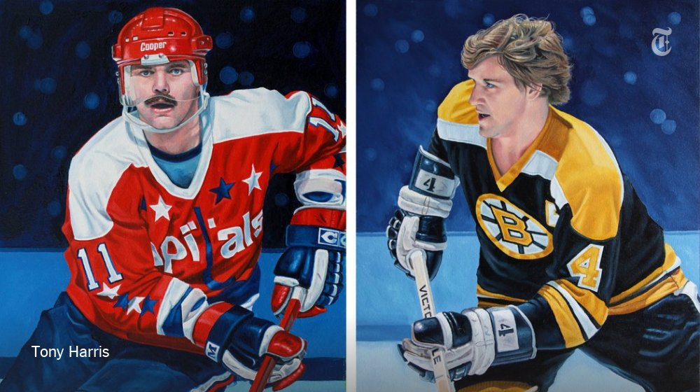 The NHL needed 100 portraits. So Tony Harris got to work. https://t.co/ZCBlpdQMB7 https://t.co/IJEeSb9Hrs