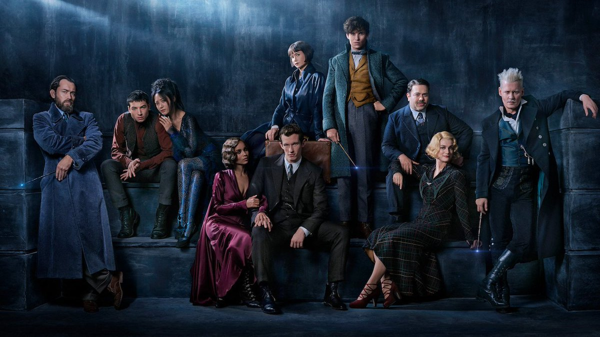 The first cast photo from 'FantasticBeasts: The Crimes of Grindelwald' has been released: