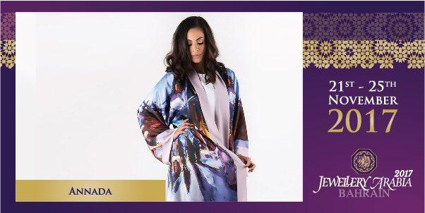 test Twitter Media - For a twist on tradition, find the perfect statement Abaya from Annada's Al-Abaya Collection right here at Jewellery Arabia 💍 #annada #jewelleryarabia2017 #elegant #beautiful #classy https://t.co/vXmltBu6v1