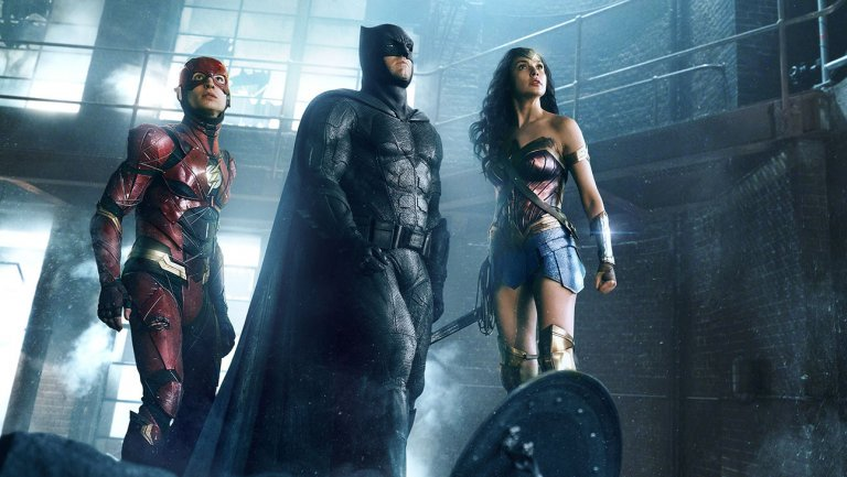 Weekend box office: JusticeLeague heads for soft $100M bow; WonderTheMovie wows