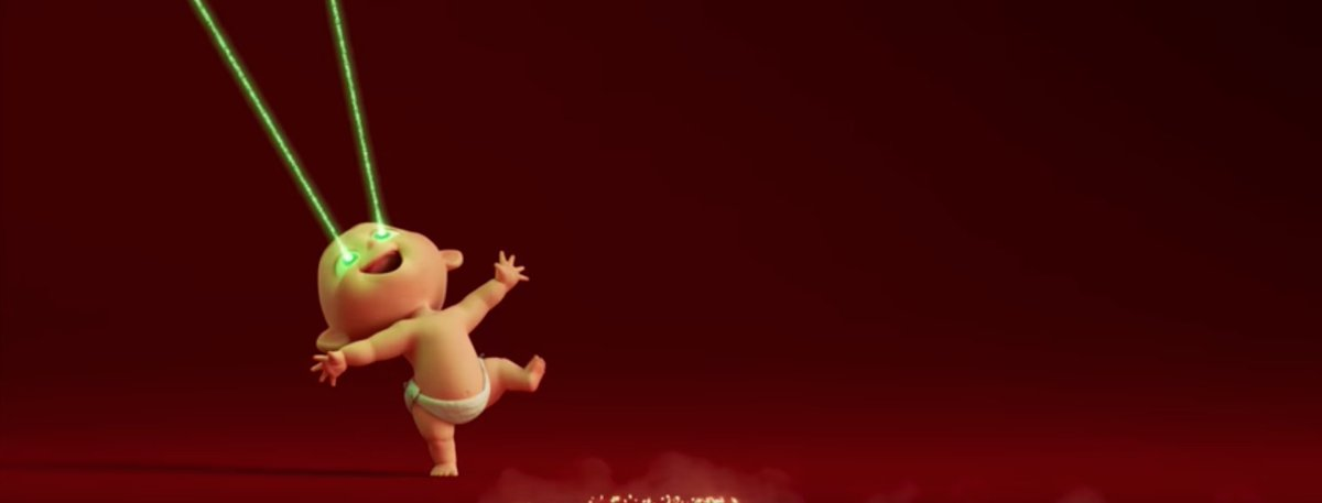 RT @HeatVisionBlog: Baby Jack stars in first Incredibles2 teaser