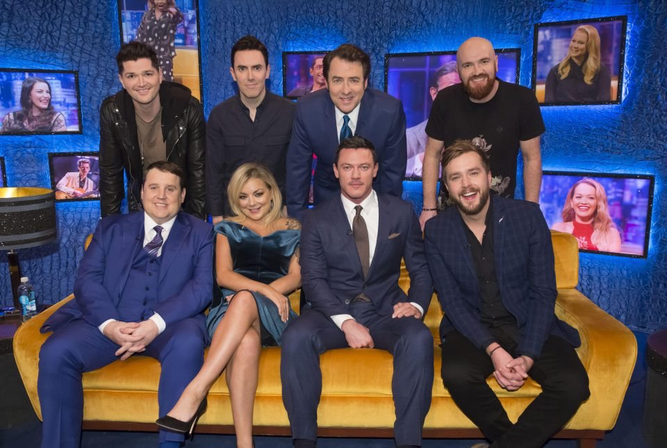 Only 30 mins until the @JRossShow starts!! Let us know you're watching with #TheScriptJRossShow https://t.co/xDZBZHLN8N
