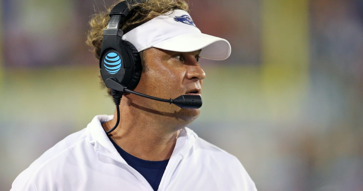 Florida Atlantic coach Lane Kiffin on Tennessee rumors: 'Time heals everything, I guess'