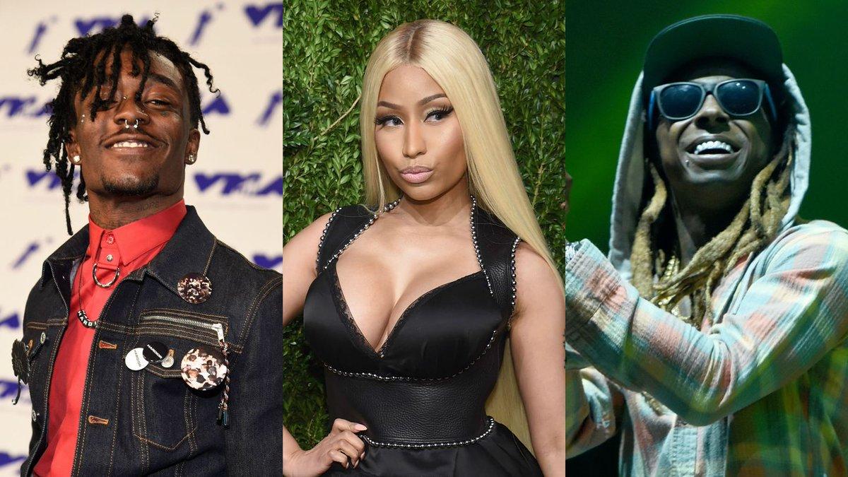 Nicki Minaj Loves That Lil Uzi Vert Reminds Her So Much Of Lil Wayne