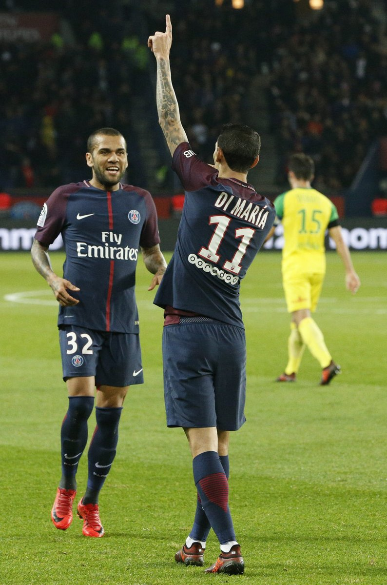 A goal for the proud new dad 👶  🇦🇷 Angel Di Maria  #PSGFCN https://t.co/FVKZyWm4Ar