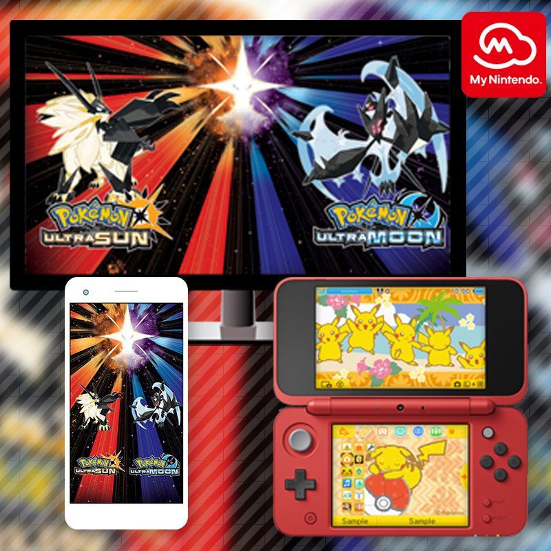 Celebrate the launch of #PokemonUltraSunMoon with Pokémon-themed #MyNintendo rewards! https://t.co/0E1q87VNqR https://t.co/CNXUeMZPO4