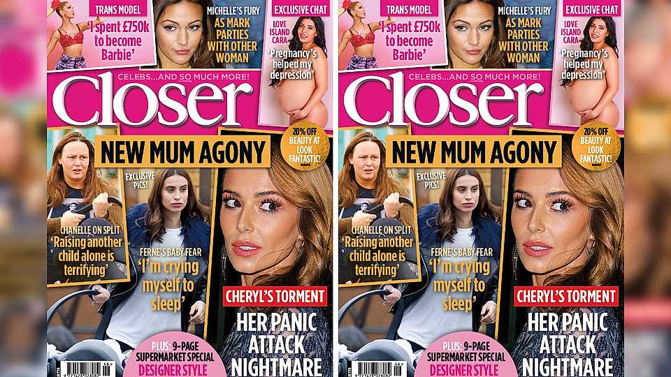 Check out the sneak peek of this week's Closer Magazine...