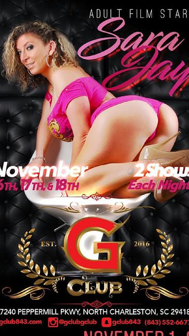 Come get a private dance😈from me at👉 @gclubgclub #SouthCarolina ❗️ LAST NIGHT 🙀💜Can't wait to see you