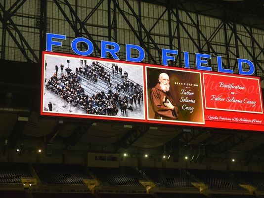 Watch live: Beatification for Rev. Casey at Ford Field