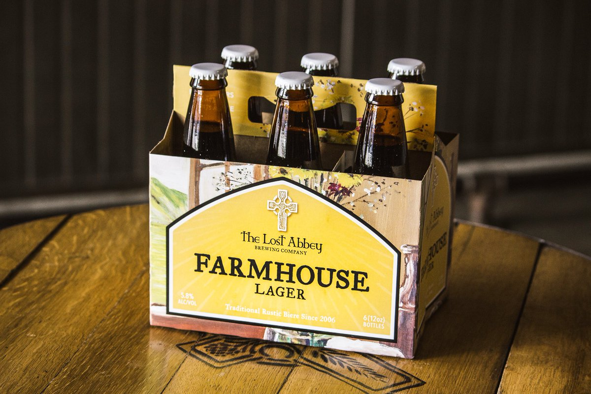 test Twitter Media - Our new Farmhouse Lager 6-packs, right in time to share for the holidays... or maybe drink all 6 to deal with the holidaze, your choice! https://t.co/YN5Qu26KiP