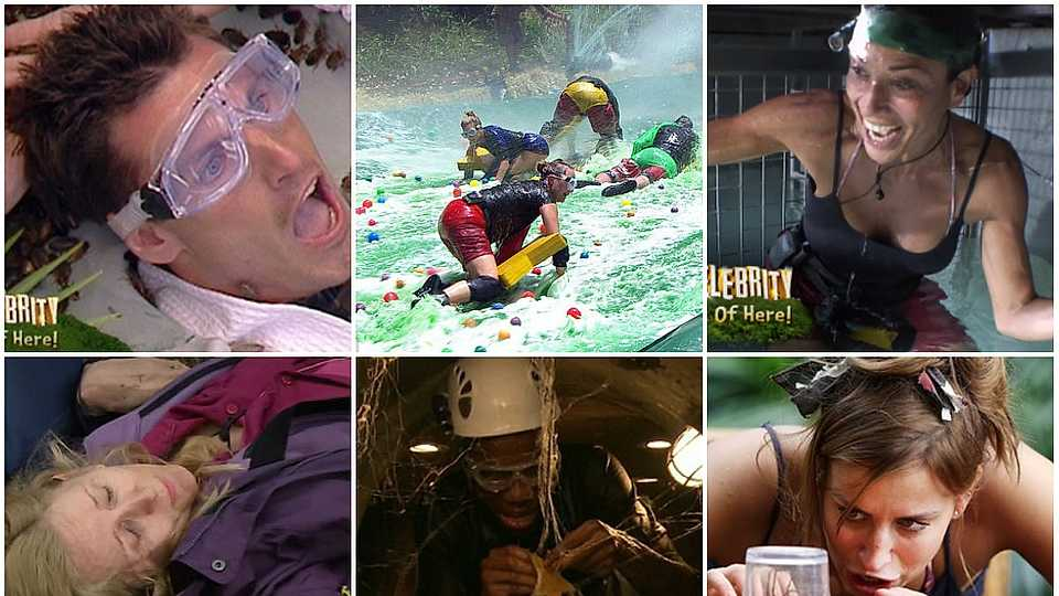 The very BEST bushtucker trials from I'm A Celebrity… Get Me Out Of Here!