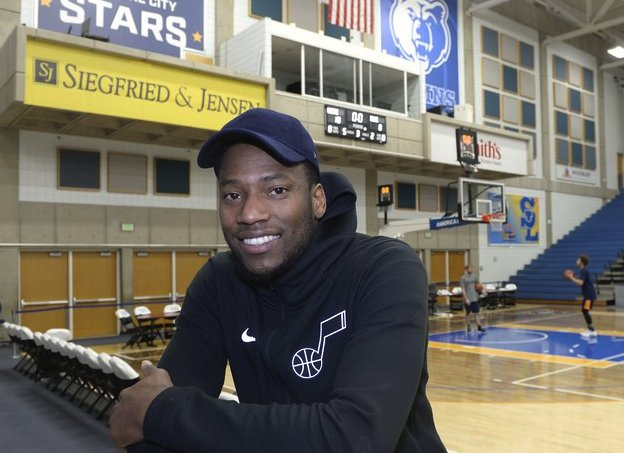 Monson: Eric Griffin was once accused of attempted murder. Now he's striving for a spot with the Utah Jazz
