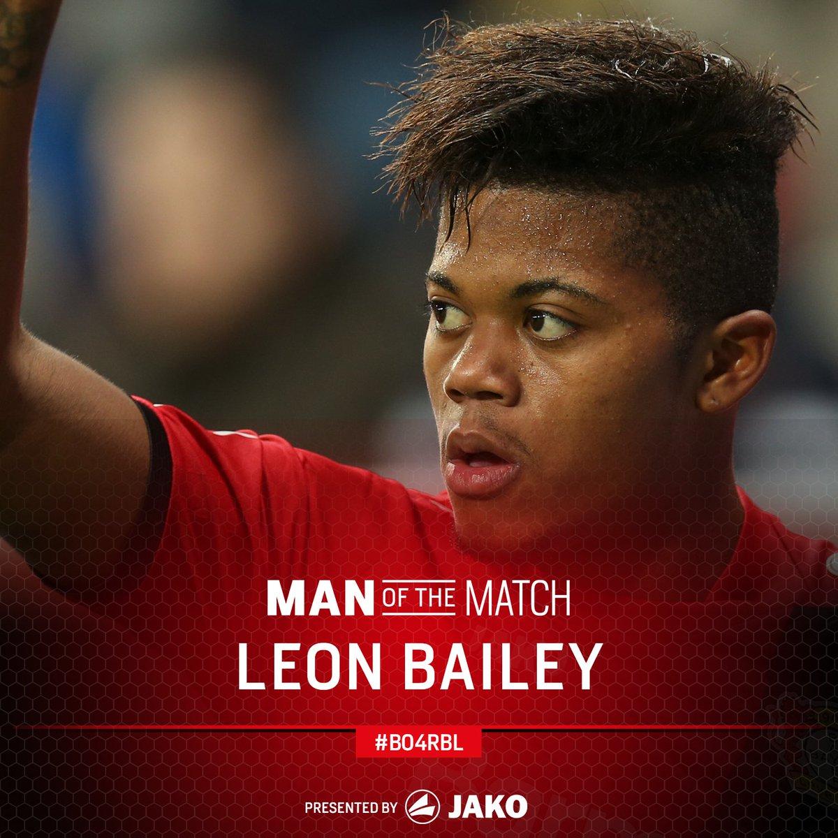RT @bayer04_en: Your Man of the Match for #B04RBL...  ... @leonbailey! https://t.co/nq8oxGERdw
