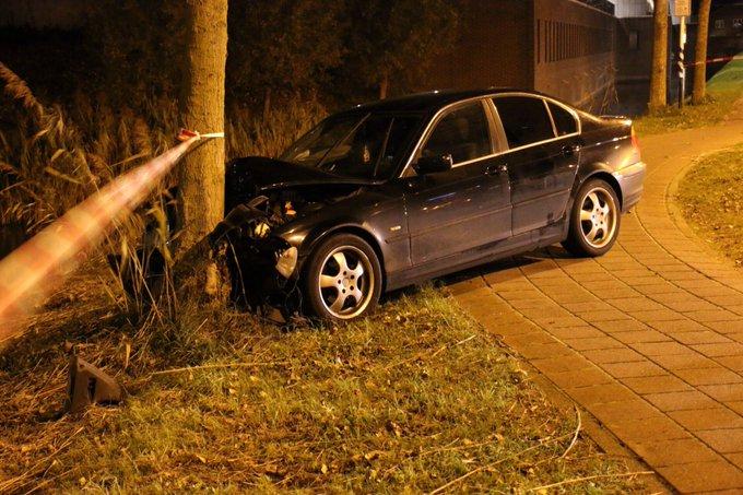 Vluchtauto inbrekers gecrasht aan de Grote Wierdlaan volgens eerste berichten twee daders aangehouden https://t.co/opFzv0E9DW