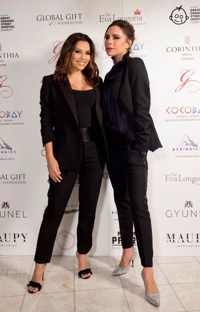 Could not be more proud. You inspire me @EvaLongoria x I love you so much!! x VB #GGGLondon17 https://t.co/XMI13twt6n