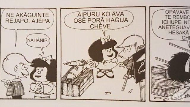 VIDEO  Mafalda ha pasado del e mafalda