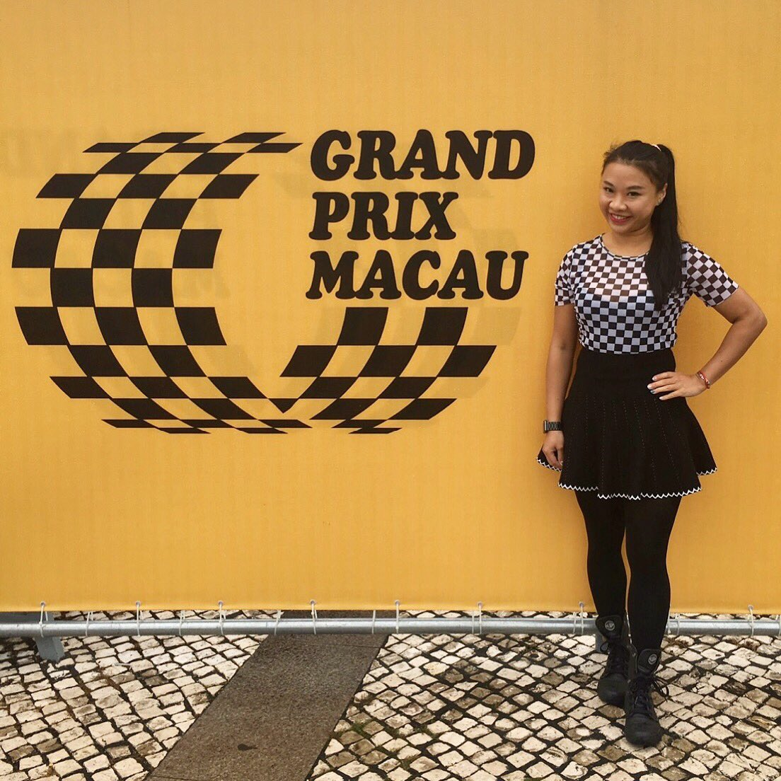 test Twitter Media - louder and higher 🏎🏁♥️ * Outfit by : Factory Direct By T. 🌶 @fdbthk  64th #MacauGrandPrix #MacauGP #澳門格蘭披治大賽車 #suncity #Macau #Macau2017 #nofilter #babychili https://t.co/Ojx8sPfcAd
