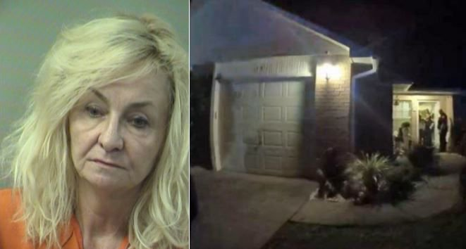 Florida woman charged with murder; husband's duct-taped body behind brick wall