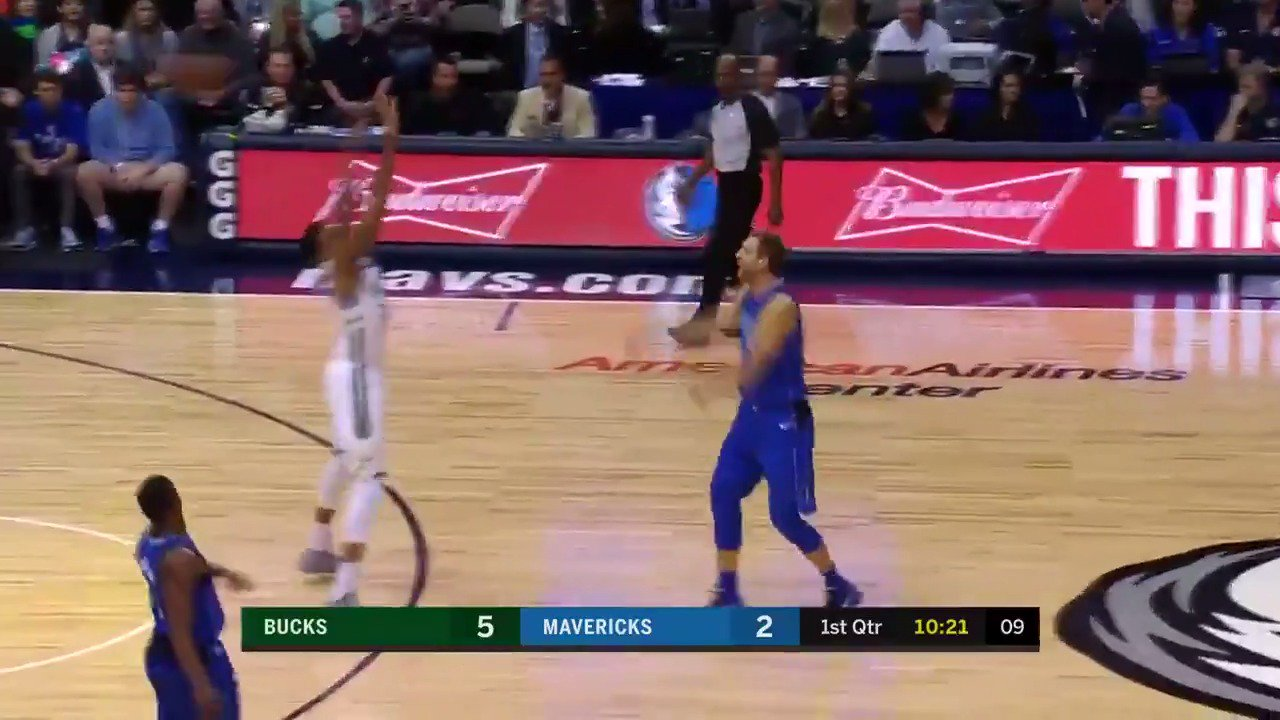 Dirk finds the open man! #MFFL https://t.co/pFmQvFE6K6