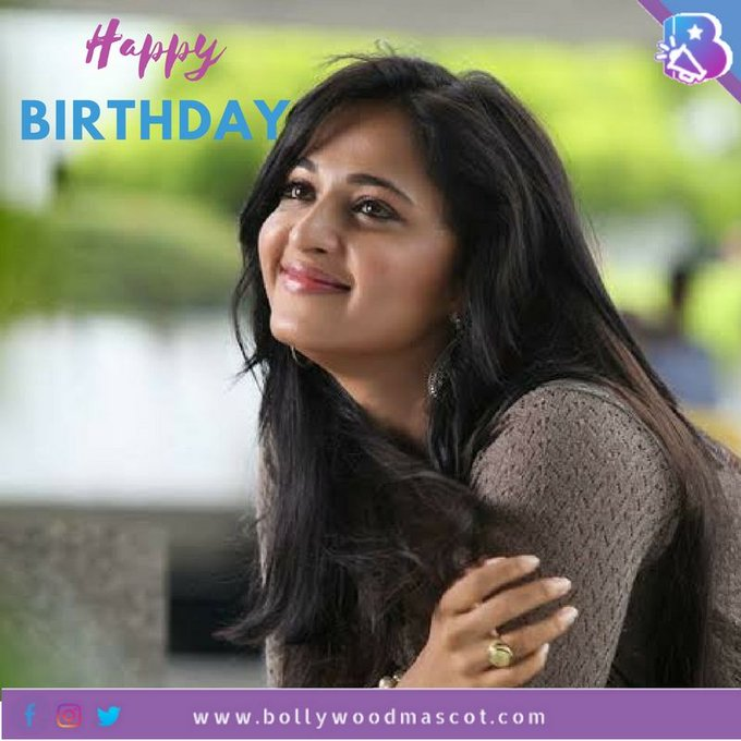 Bollywood Mascot wishes a Happy Birthday to beauteous Anushka Shetty