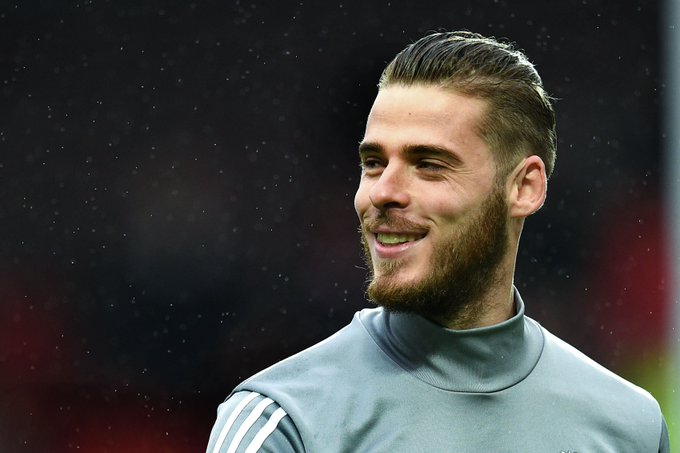 A VERY happy birthday to the world\s best goalkeeper, David de Gea, who turns 27 today!