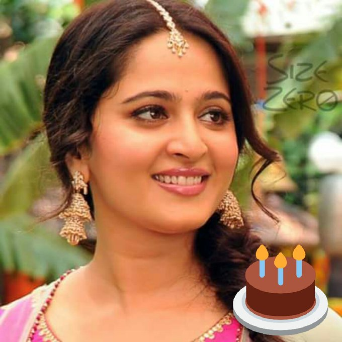 Happy Birthday to our Devshena # Anushka shetty