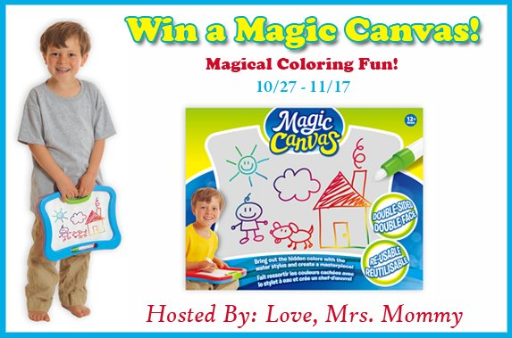Magic Canvas #Giveaway Ends 11/17 -