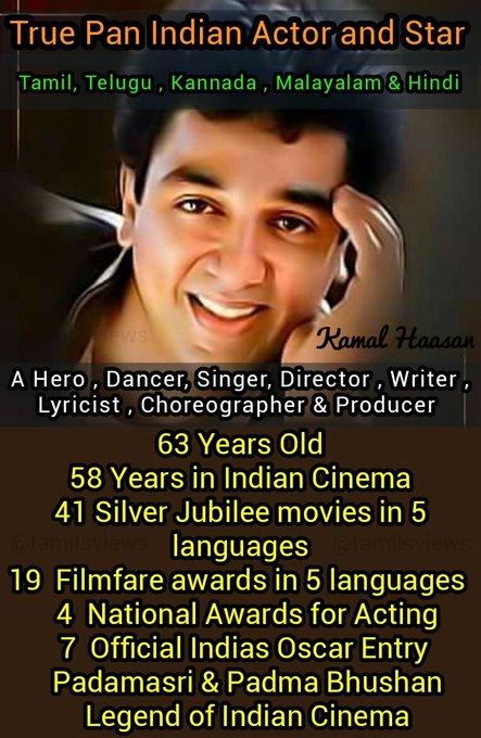Happy Birthday Kamal Haasan