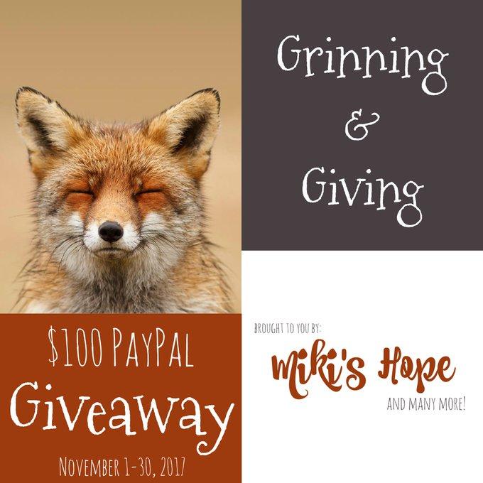 $100 PayPal GA-1-WW-Ends 11/30