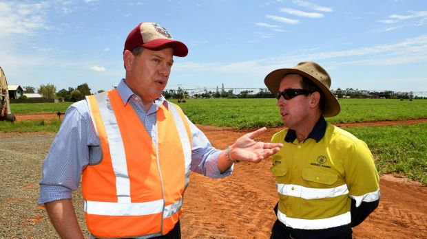 LNP promises electricity rebates for farmers struggling with power cost