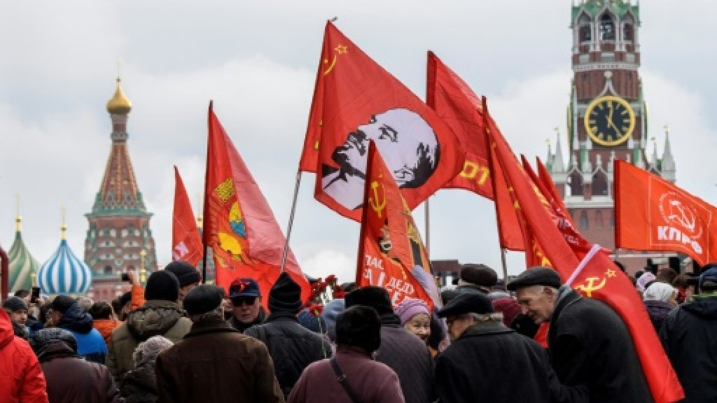 Russia holds low-key events for 1917 Revolution anniversary