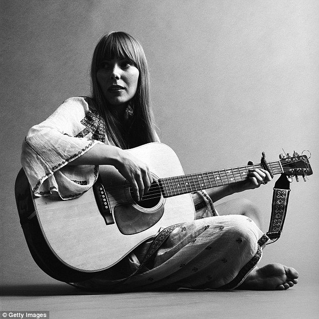 Happy birthday to Joni Mitchell, born on 7th Nov 1943, Canadian singer, songwriter,